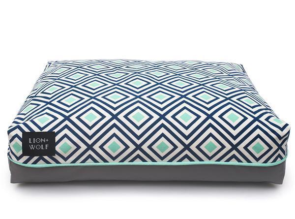Modern designer dog bed front grande