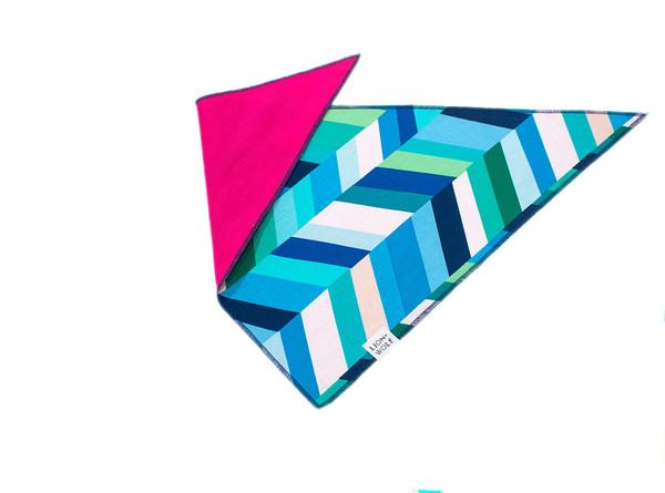 Sea glass bandana reverse