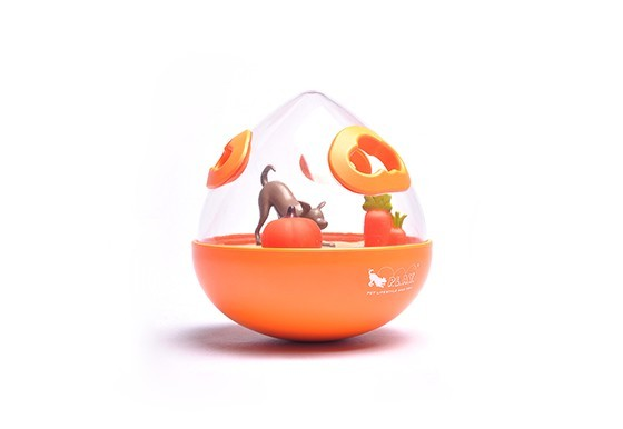 Wobble ball ll single orange copy 2