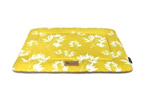 Chill pads pattern bamboo mustard 1