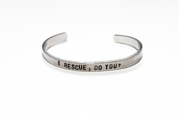 I rescue do you bracelet