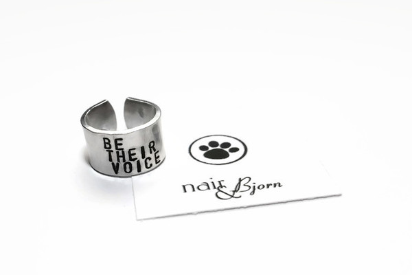 Be their voice ring nair bjorn