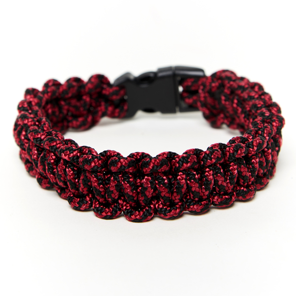 11 dog collar red front