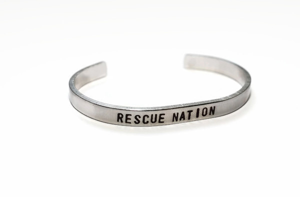 Rescue nation stacking bracelet