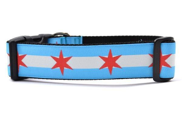 Chicago flag wide large collar 800x
