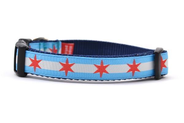Chicago flag small collar 800x
