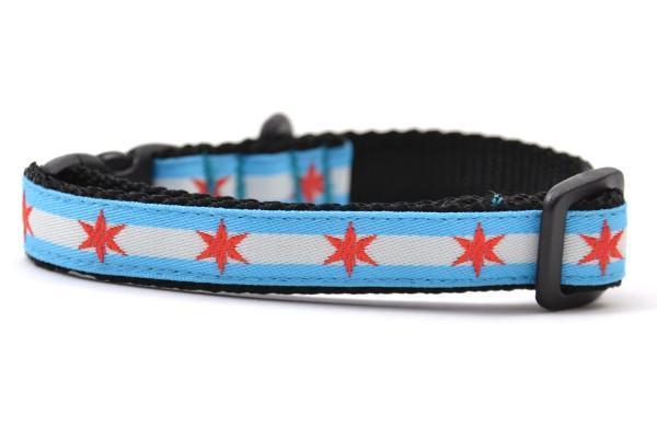 Chicago flag xxs collar 800x