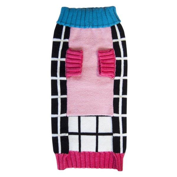 Modern dog sweater colorblock grid bauhound front 8d76990d aa81 4644 a53e 1b397c3d8b02 1024x1024