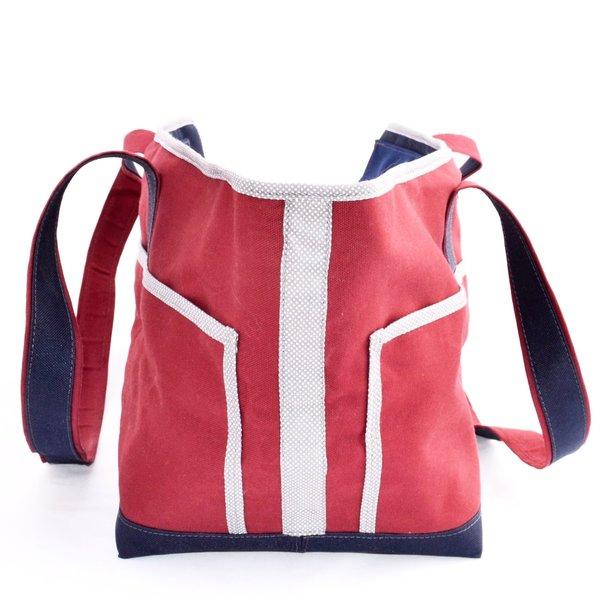Crimson navy blue polka dots back view 1024x1024 2x