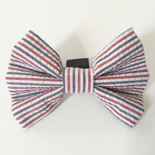 Red white and blue seersucker bow tie 1024x1024 2x