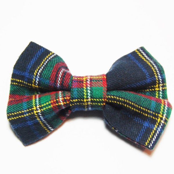Navy plaid bow tie 1024x1024 2x