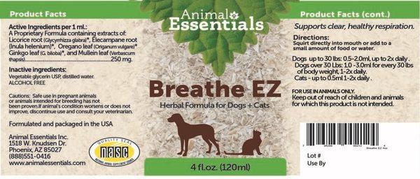 Breathe supplement back