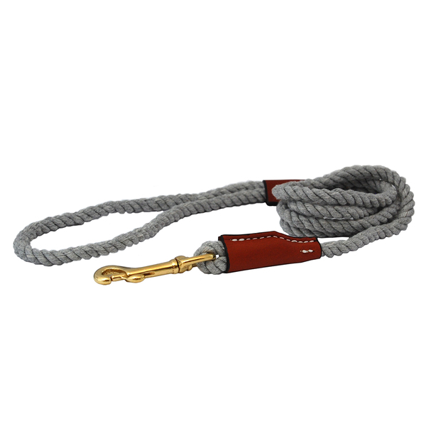 22800 22830 auburn leathercrafters natural cotton leather leash small grey 72