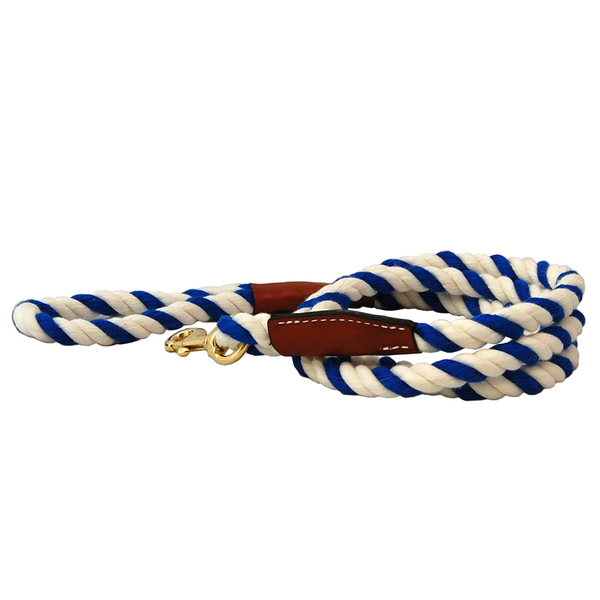 22800 22808 auburn leathercrafters natural cotton leather leash 72