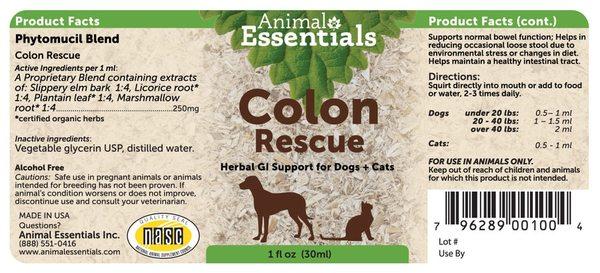 Colon rescue back