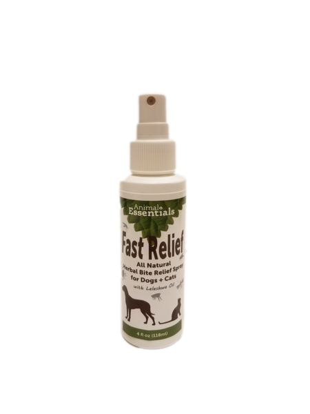 Fast relief spray