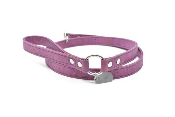Purple cork leash 1 sm 600x