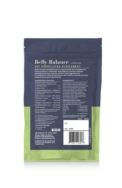 Belly balance bacj