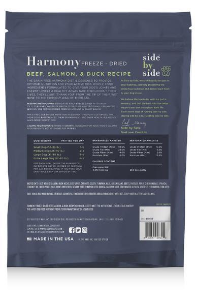 Sbs diets freezedried harmony back grande