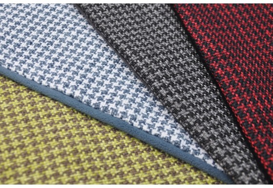 Houndstooth close up
