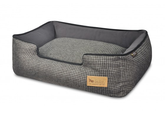 Houndstooth lb shadow gray