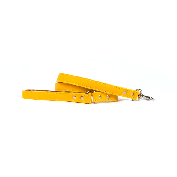 Tuscany leash yellow 1600