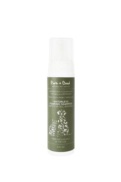Original flea and tick waterless shampoo