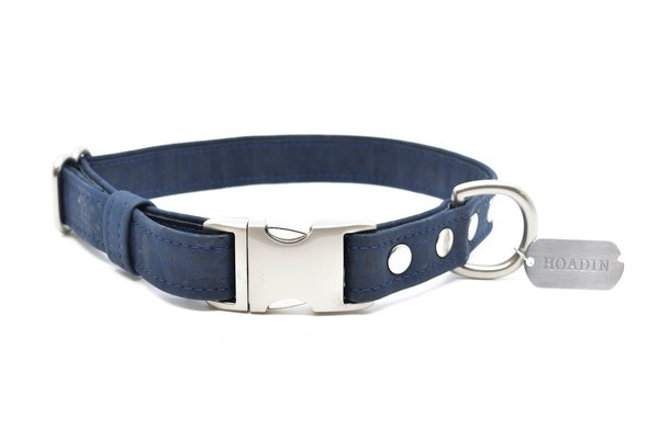 Navy cork dog collar sr x 1600x