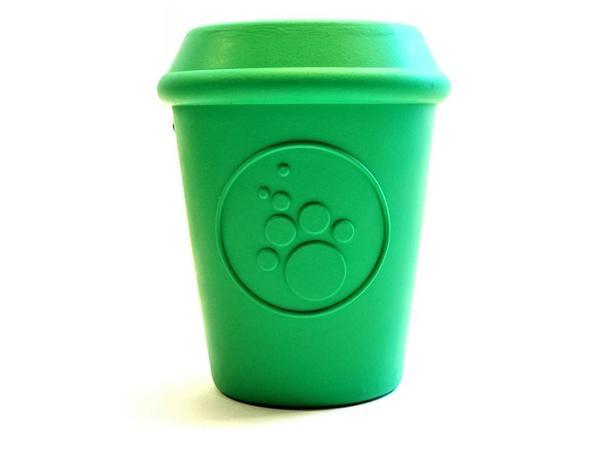 35 coffee cup treat dispenser chew   treat pack