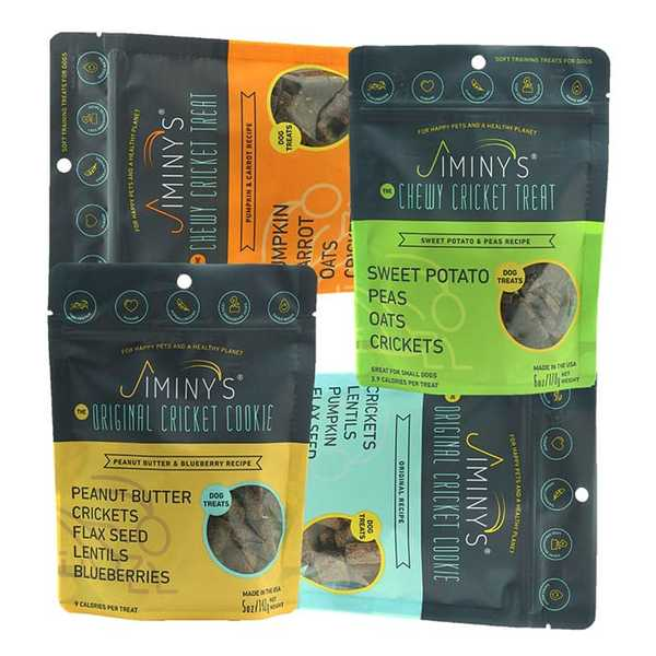 Four product bundle dog treats