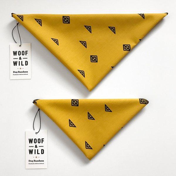 Mesa modern dog bandana woof wild 157284 1500x