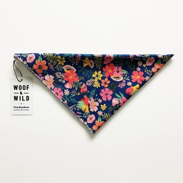 Pua modern dog bandana woof wild 811943 1500x